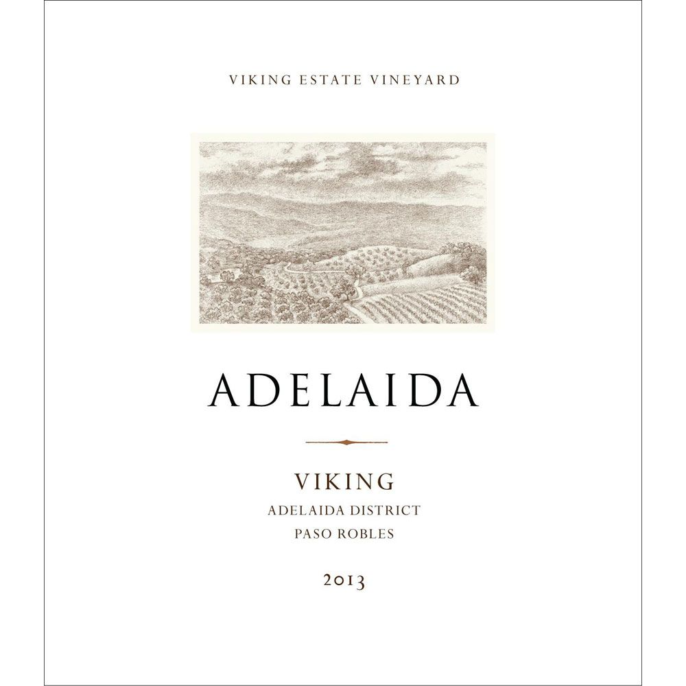 Adelaida Viking Red Blend 2013 Front Label