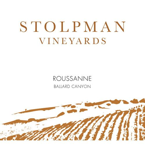 Stolpman Vineyards Roussanne 2015 Front Label