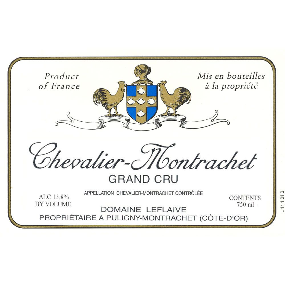 Domaine Leflaive Chevalier-Montrachet Grand Cru 2009 Front Label
