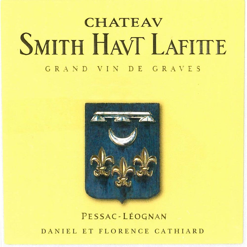 Chateau Smith Haut Lafitte  1995 Front Label