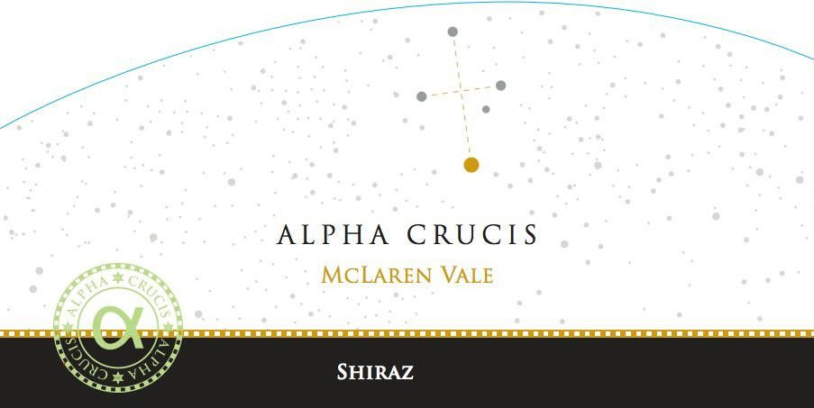 Alpha Crucis Shiraz 2013 Front Label