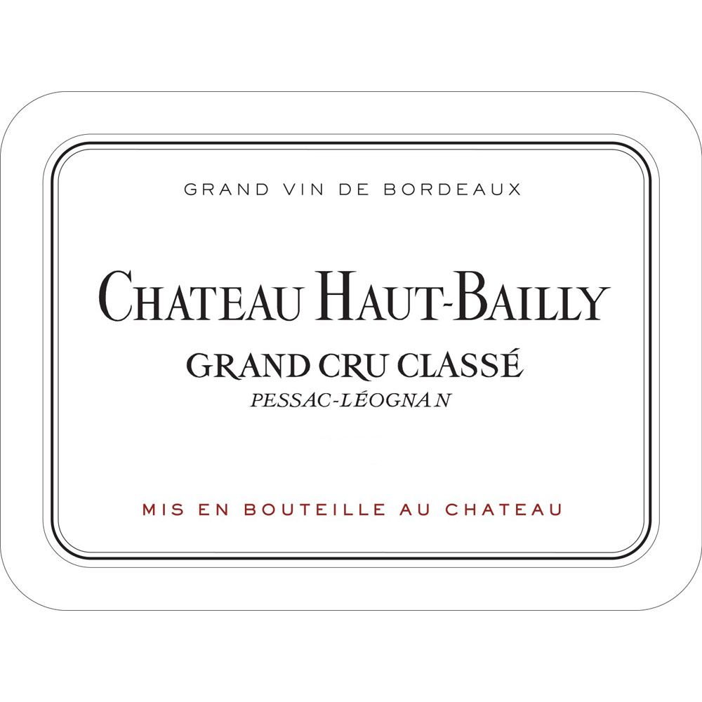 Chateau Haut-Bailly  2003 Front Label