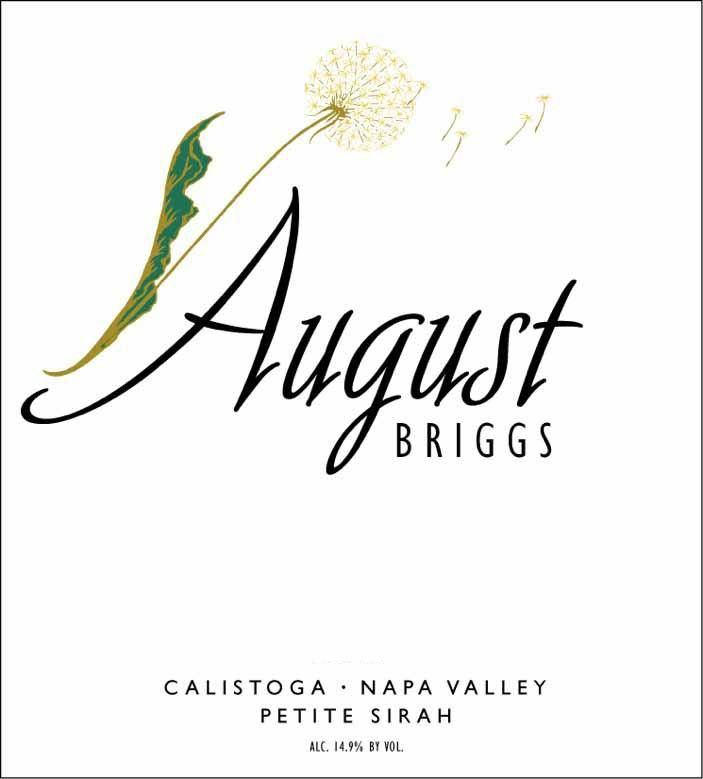 August Briggs Petite Sirah 2011 Front Label