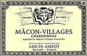 Louis Jadot Macon-Villages (375ML Half-bottle) 1999 Front Label