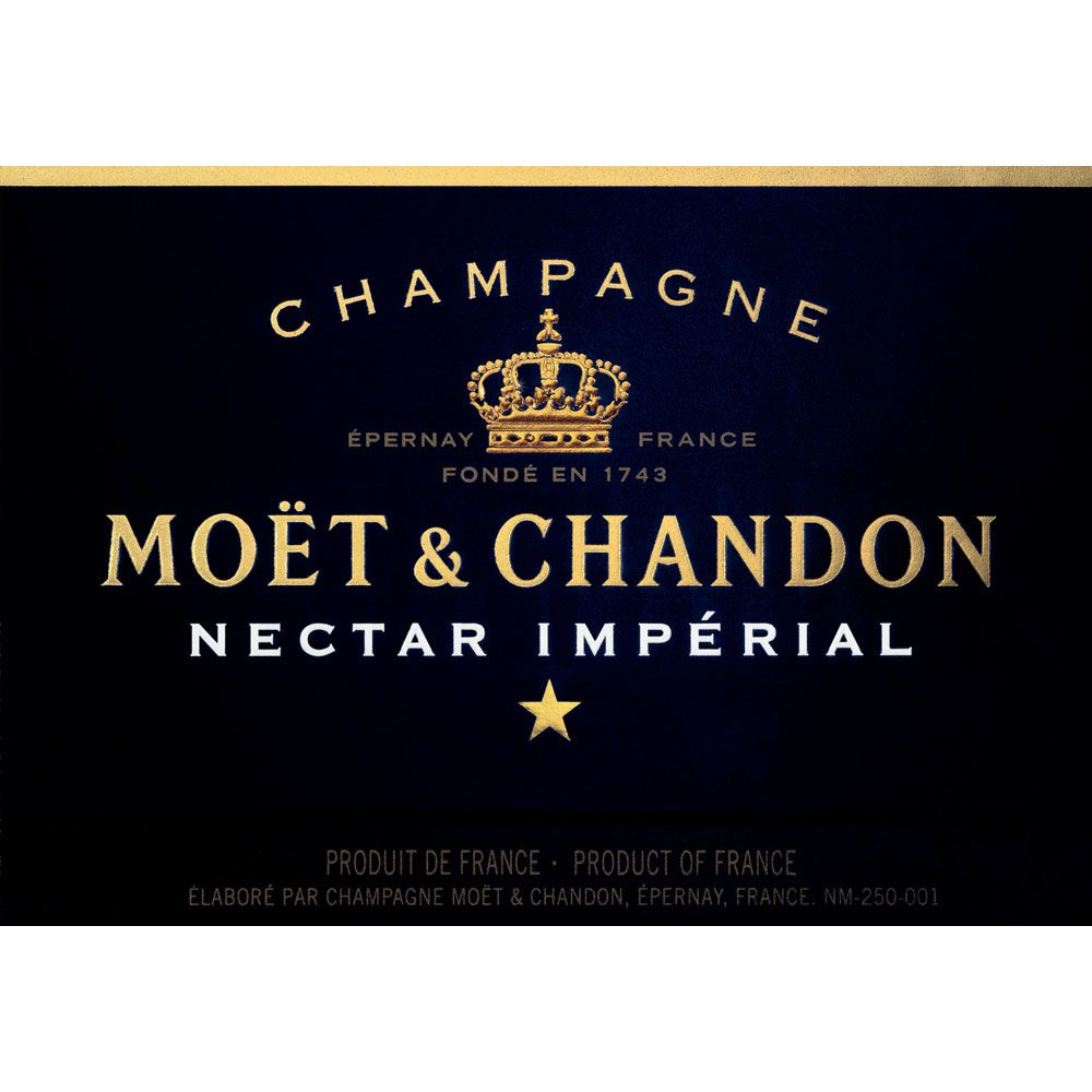 Moet & Chandon Nectar Imperial Front Label