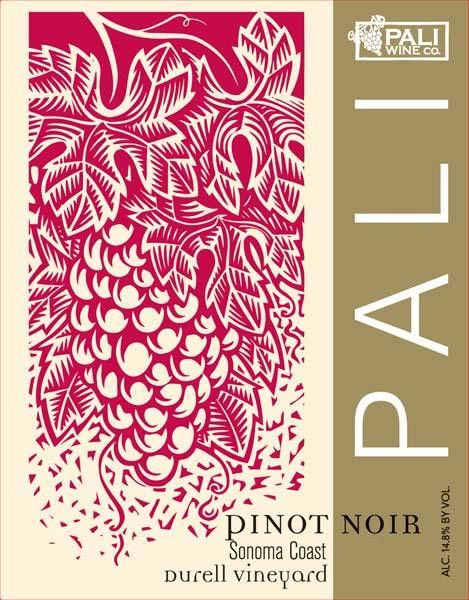 Pali Wine Co Durell Vineyard Pinot Noir 2012 Front Label