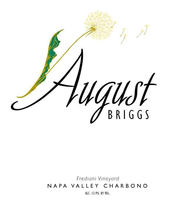 August Briggs Frediani Vineyard Charbono 2007 Front Label
