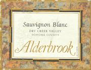 Alderbrook Winery Sauvignon Blanc 1997 Front Label