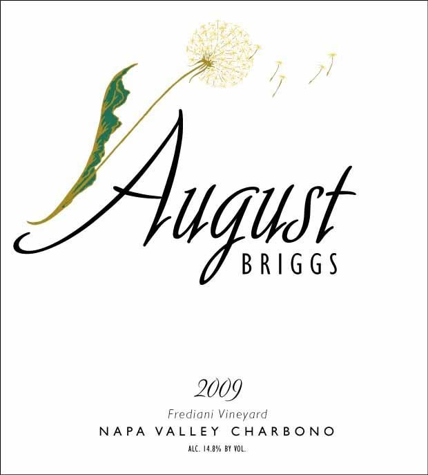 August Briggs Frediani Vineyard Charbono 2009 Front Label