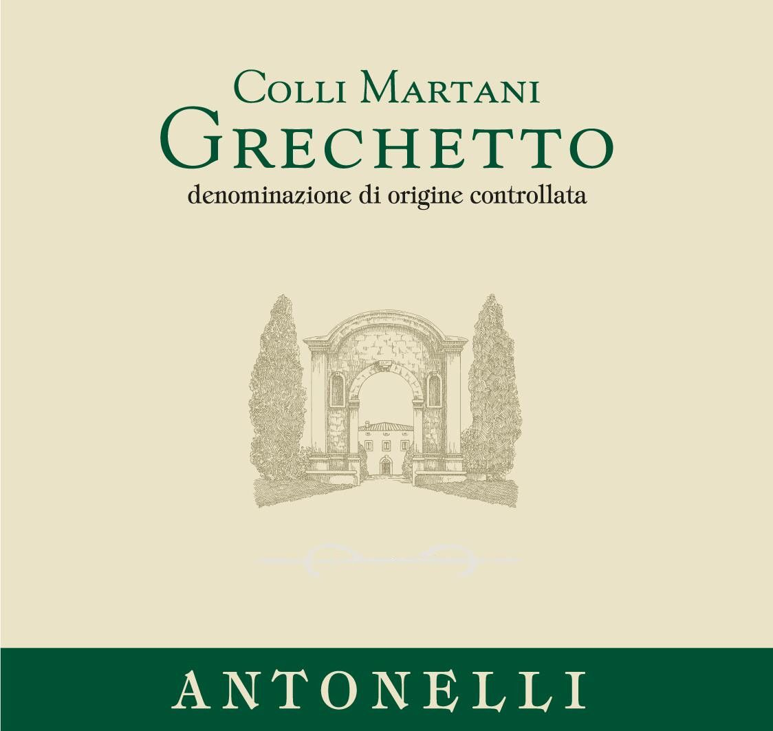 Antonelli San Marco Colli Martani Grechetto 2015 Front Label