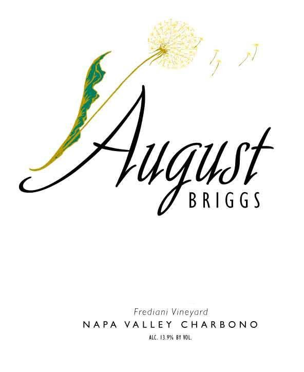 August Briggs Frediani Vineyard Charbono 2008 Front Label