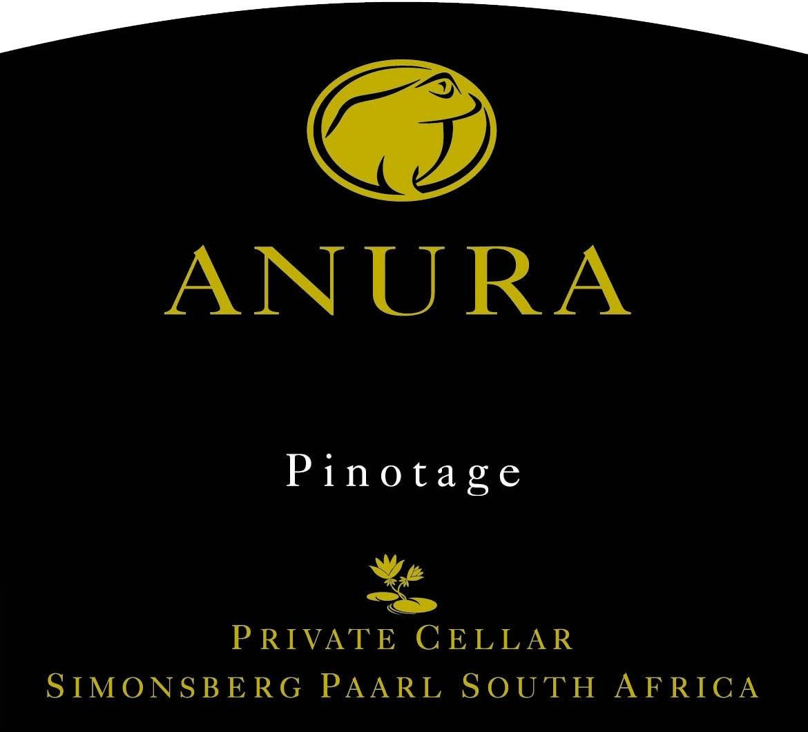 Anura Vineyards Private Cellar Pinotage 2014 Front Label