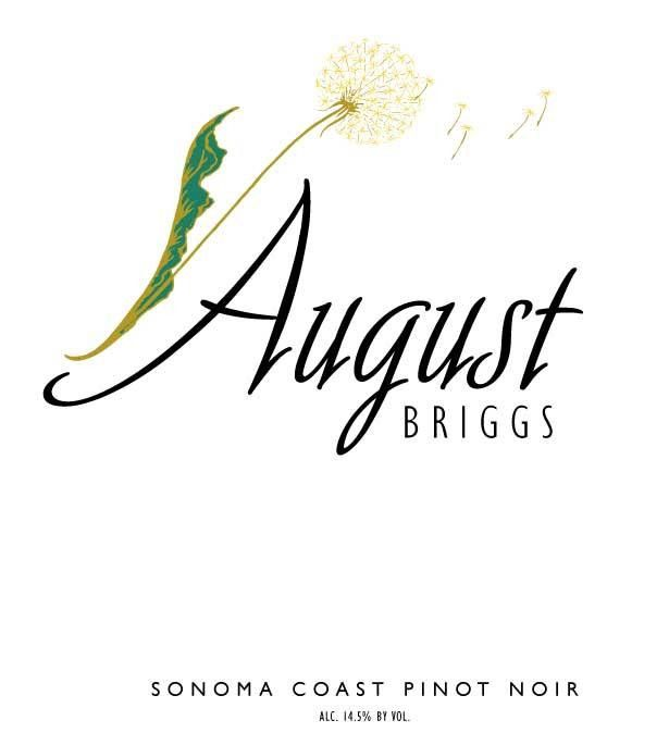 August Briggs Pinot Noir 2009 Front Label