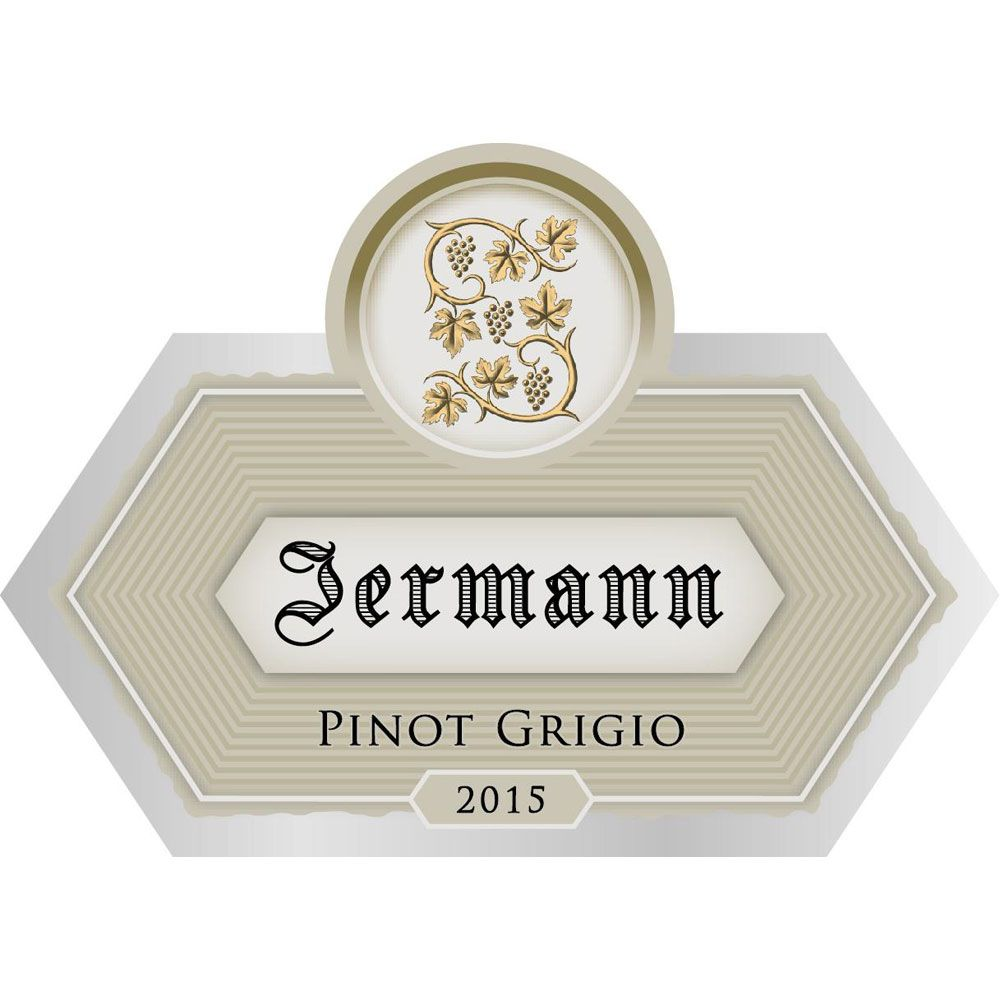 Jermann Pinot Grigio (375ML half-bottle) 2015 Front Label