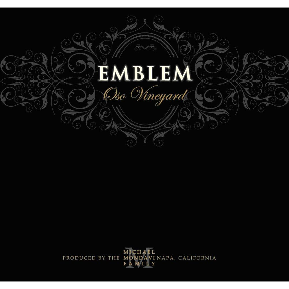 Emblem by Michael Mondavi Oso Vineyard Cabernet Sauvignon 2012 Front Label