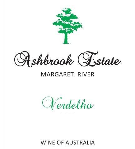 Ashbrook Estate Verdelho 2014 Front Label