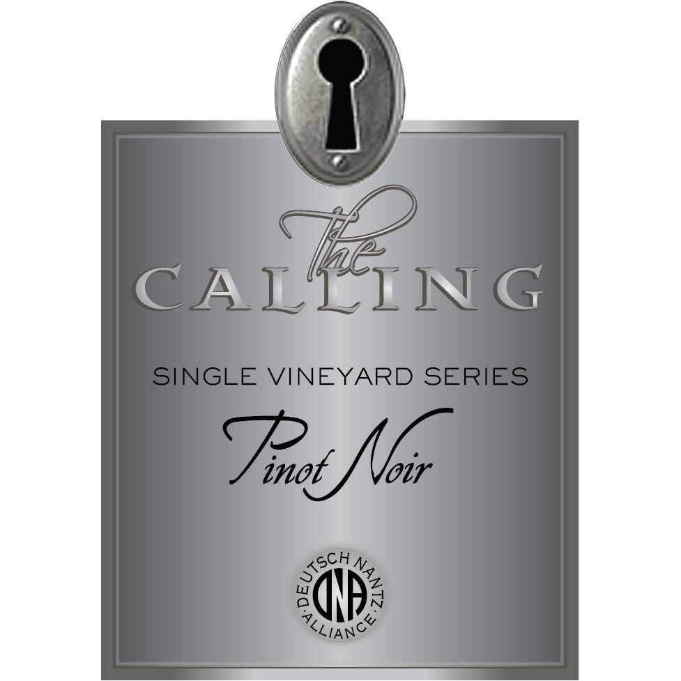 The Calling Patriarch Pinot Noir 2014 Front Label