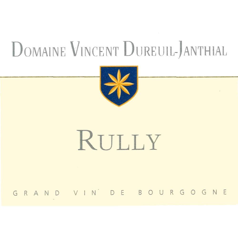 Dureuil-Janthial Rully Blanc 2014 Front Label