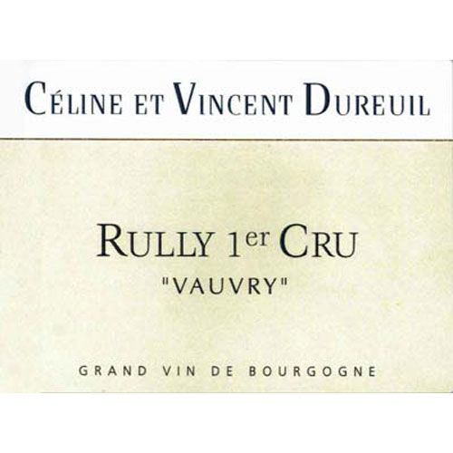 Dureuil-Janthial Rully Premier Cru Vauvry Rouge 2014 Front Label