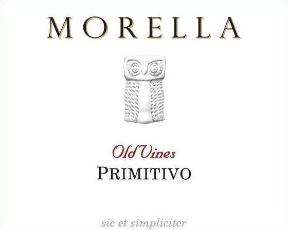 Az. Ag. Morella Old Vines Primitivo 2008 Front Label