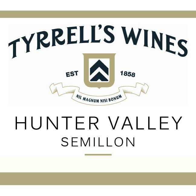 Tyrrell's Hunter Valley Semillon 2016 Front Label