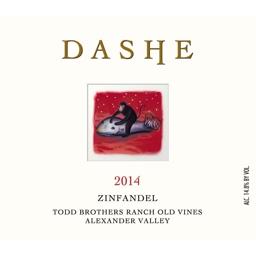 Dashe Todd Brothers Ranch Zinfandel 2014 Front Label