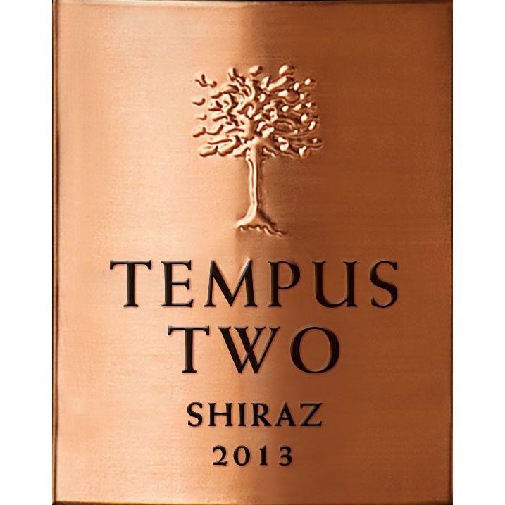 Tempus Two Copper Shiraz 2013 Front Label