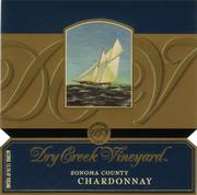 Dry Creek Vineyard Chardonnay (half-bottle) 1999 Front Label