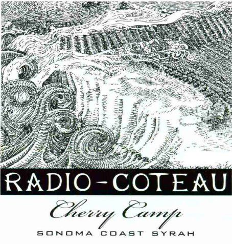 Radio-Coteau Cherry Camp Syrah 2005 Front Label