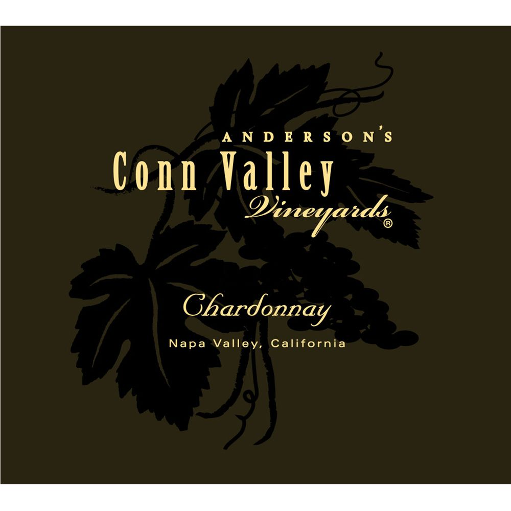 Anderson's Conn Valley Vineyards Chardonnay 2014 Front Label