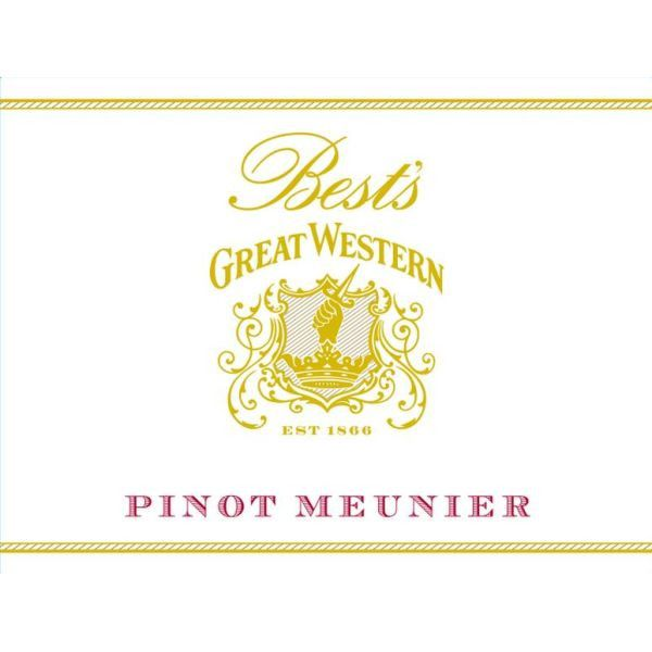 Best's Great Western Old Vine Pinot Meunier 2010 Front Label