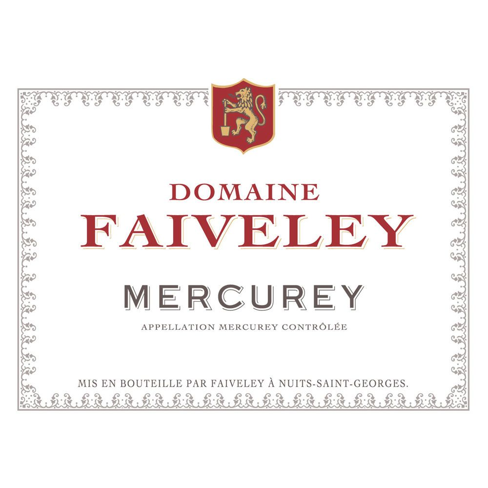Domaine Faiveley Mercurey Rouge (375ML half-bottle) 2014 Front Label