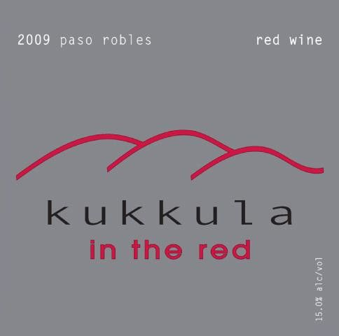Kukkula In the Red 2009 Front Label