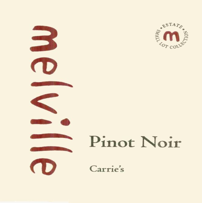 Melville Small Lot Collection Carrie's Pinot Noir 2004 Front Label
