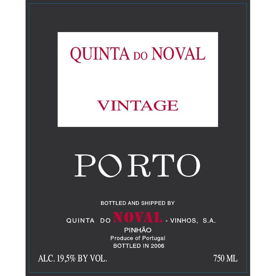 Quinta do Noval Vintage Port 2014 Front Label