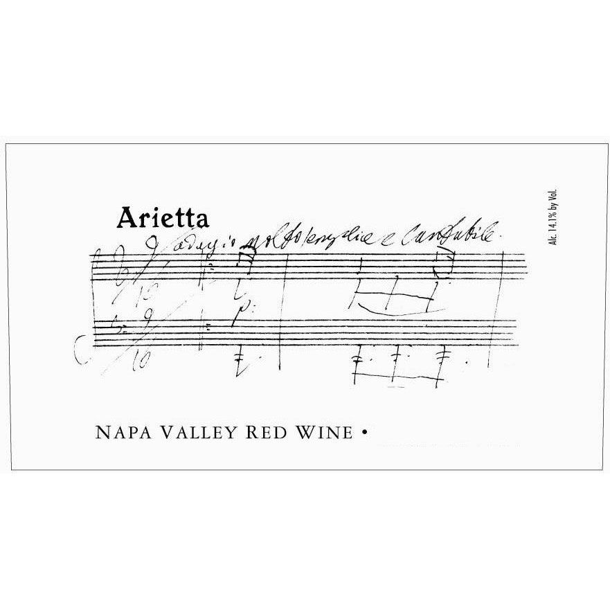 Arietta Red Blend 1998 Front Label