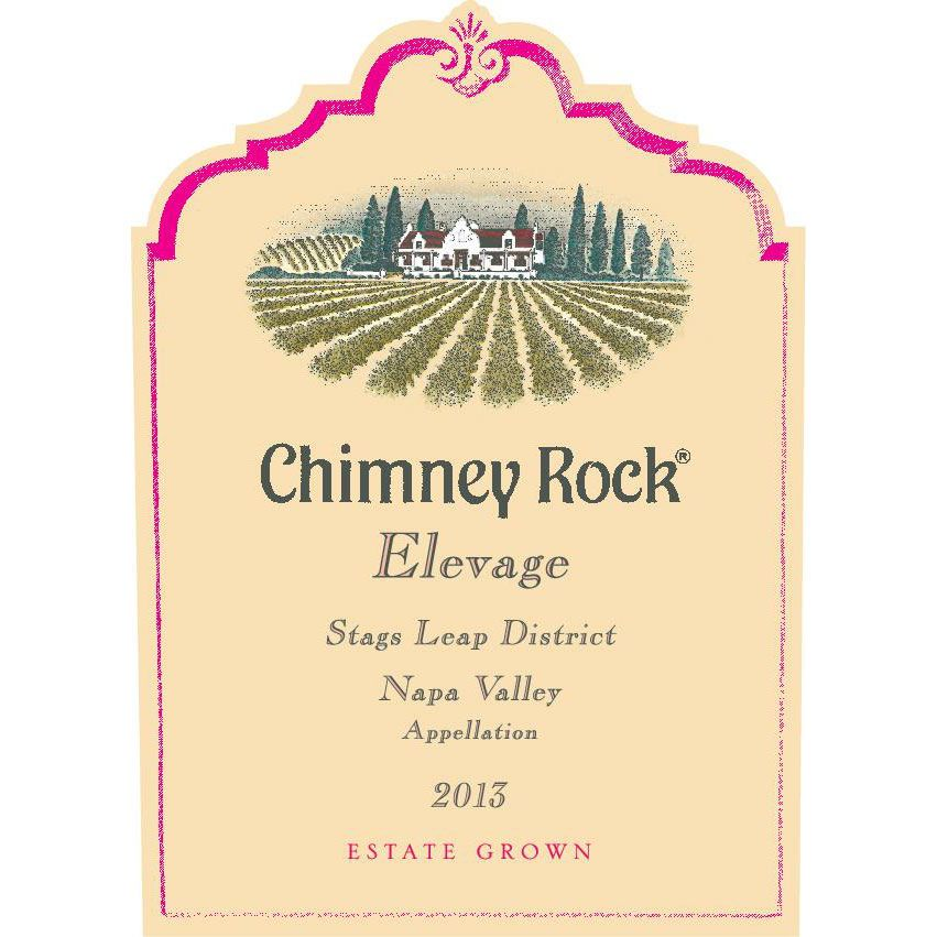 Chimney Rock Elevage Red 2013 Front Label