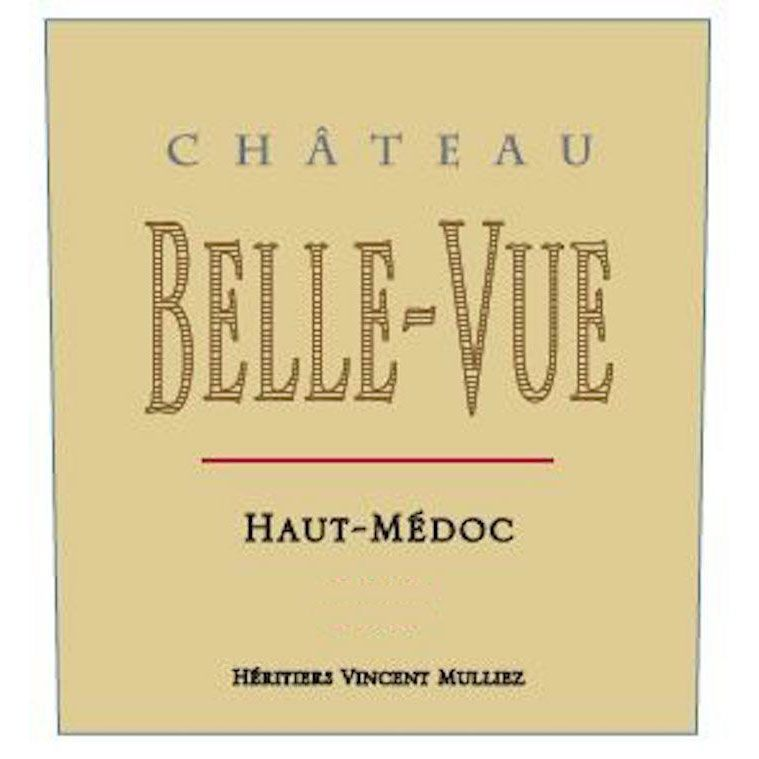 Chateau Belle-Vue  2016 Front Label