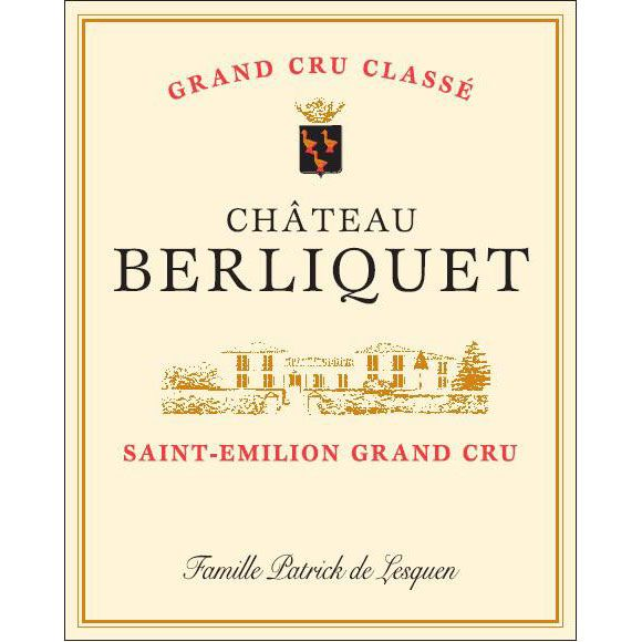 Chateau Berliquet  2016 Front Label
