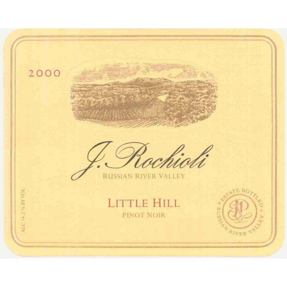 Rochioli Little Hill Pinot Noir 2000 Front Label