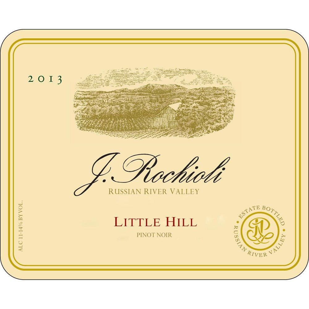 Rochioli Little Hill Pinot Noir 2007 Front Label