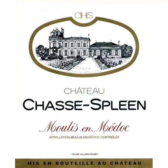 Chateau Chasse Spleen  2016 Front Label