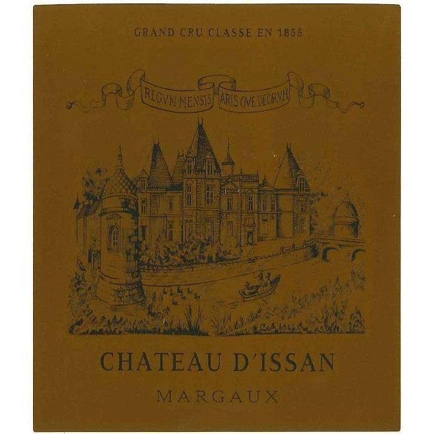 Chateau d'Issan  2016 Front Label