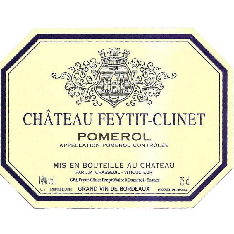 Chateau Feytit-Clinet  2016 Front Label