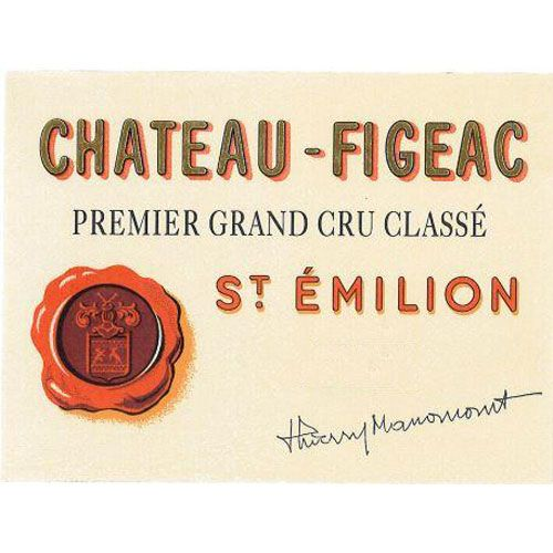 Chateau Figeac  2016 Front Label