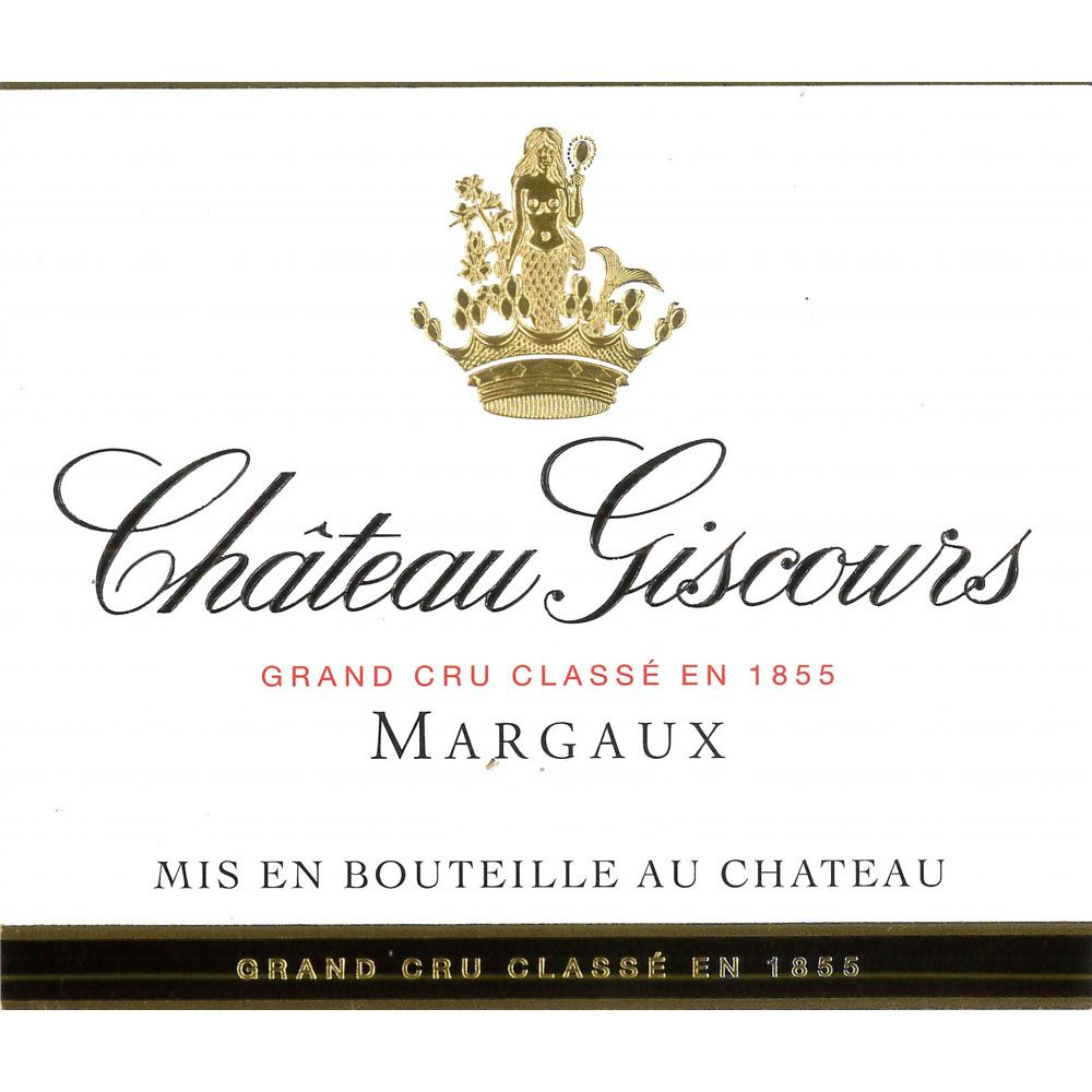 Chateau Giscours  2016 Front Label