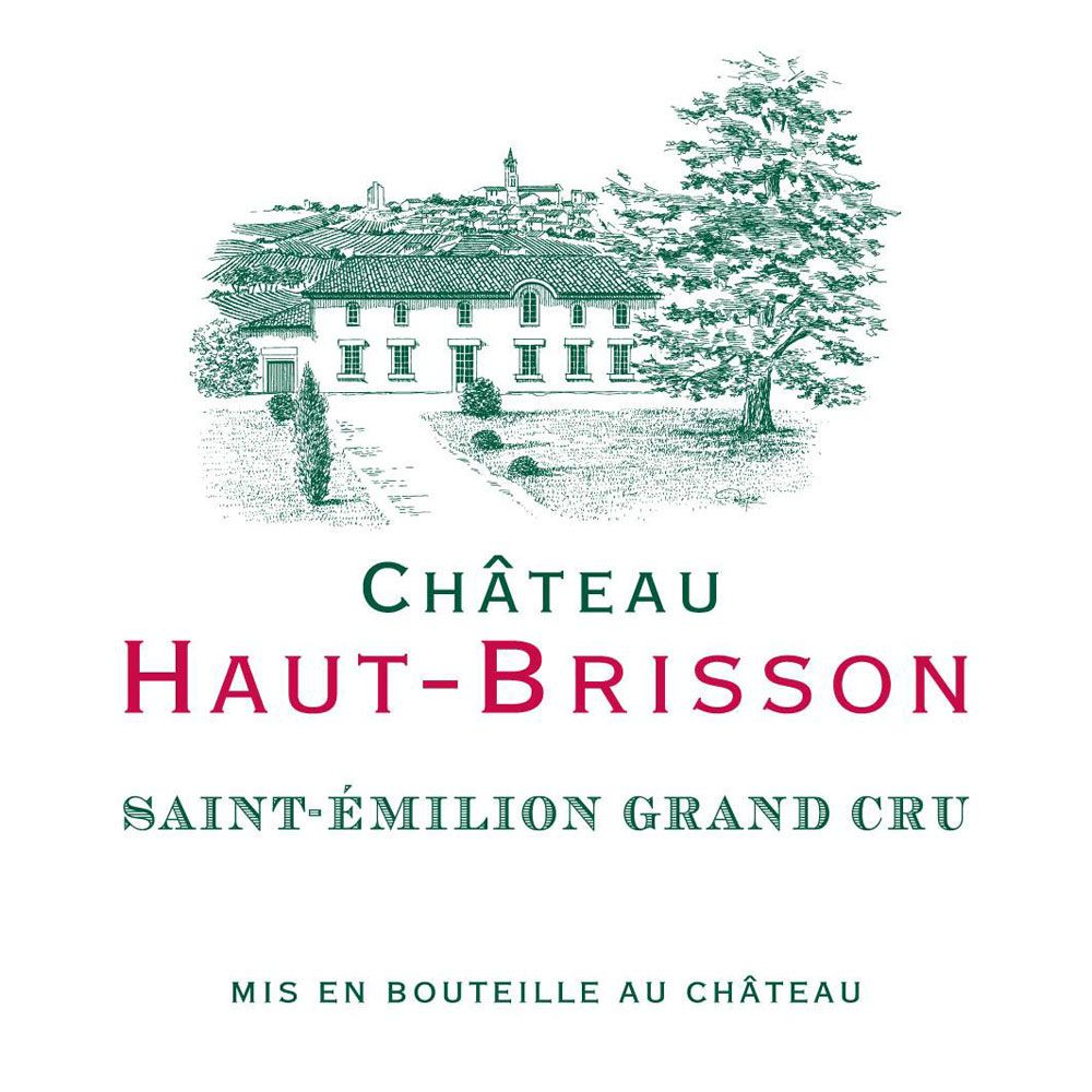 Chateau Haut-Brisson  2016 Front Label