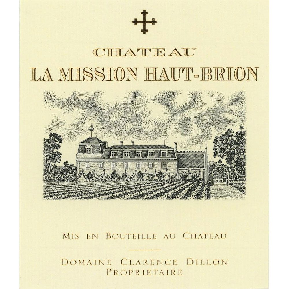 Chateau La Mission Haut-Brion  2016 Front Label