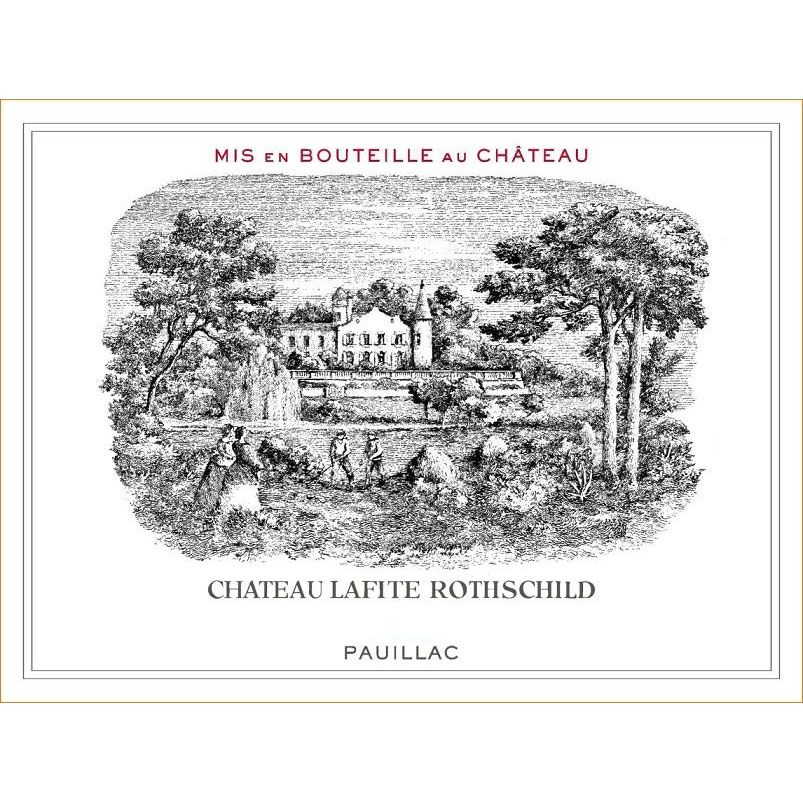 Chateau Lafite Rothschild  2016 Front Label