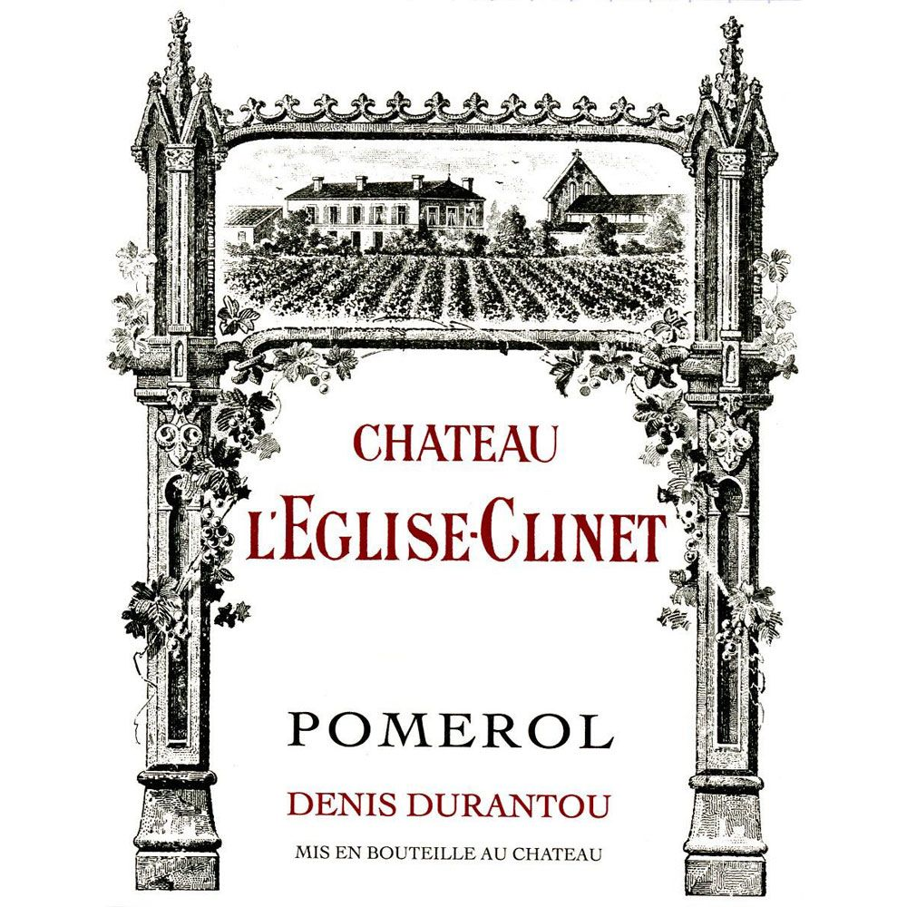 Chateau L'Eglise Clinet  2016 Front Label